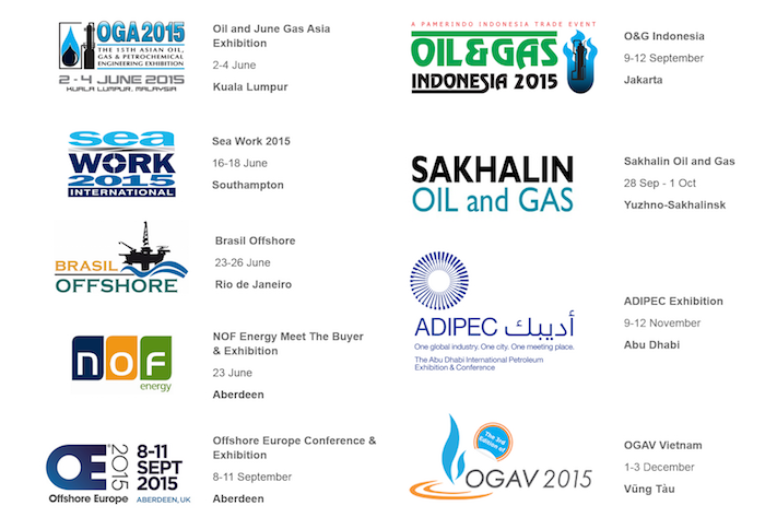 Suretank oil and gas exhibition schedule