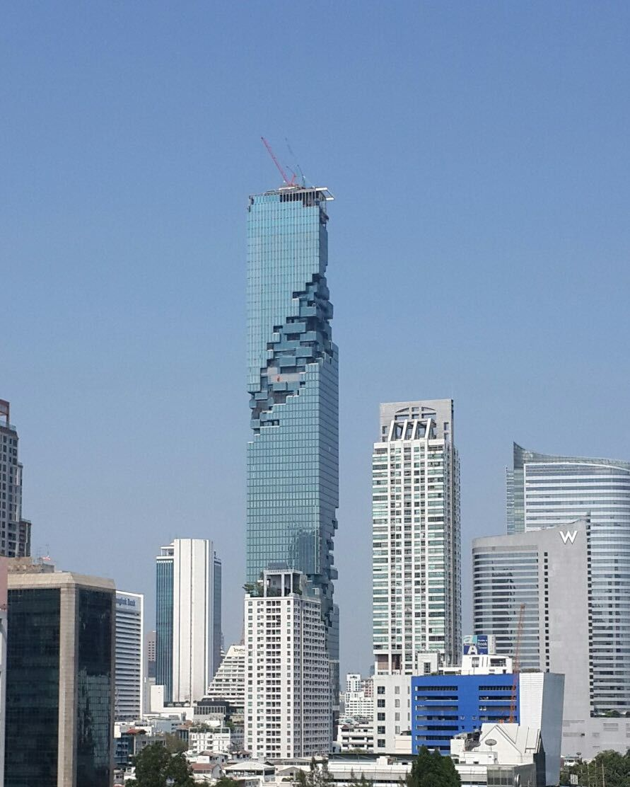 Suretank Engineering Expertise Utilised in Construction of the Mahanakhon Tower in Bangkok